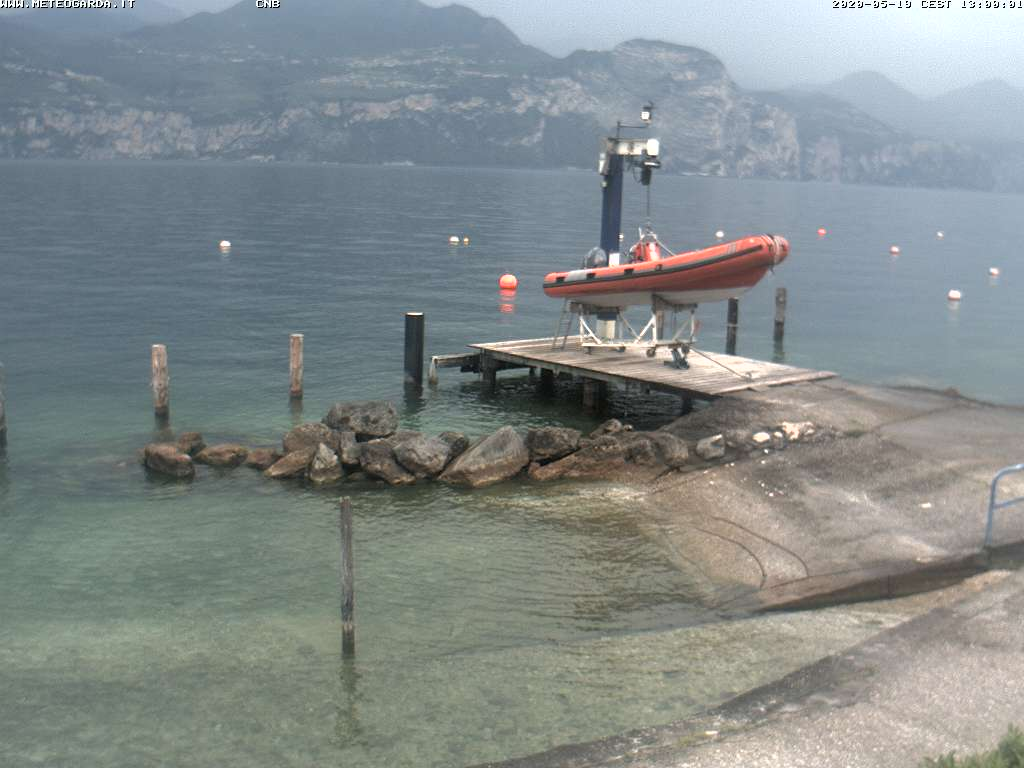 Webcam von http://www.meteogarda.it/brenzone/brenzone.html