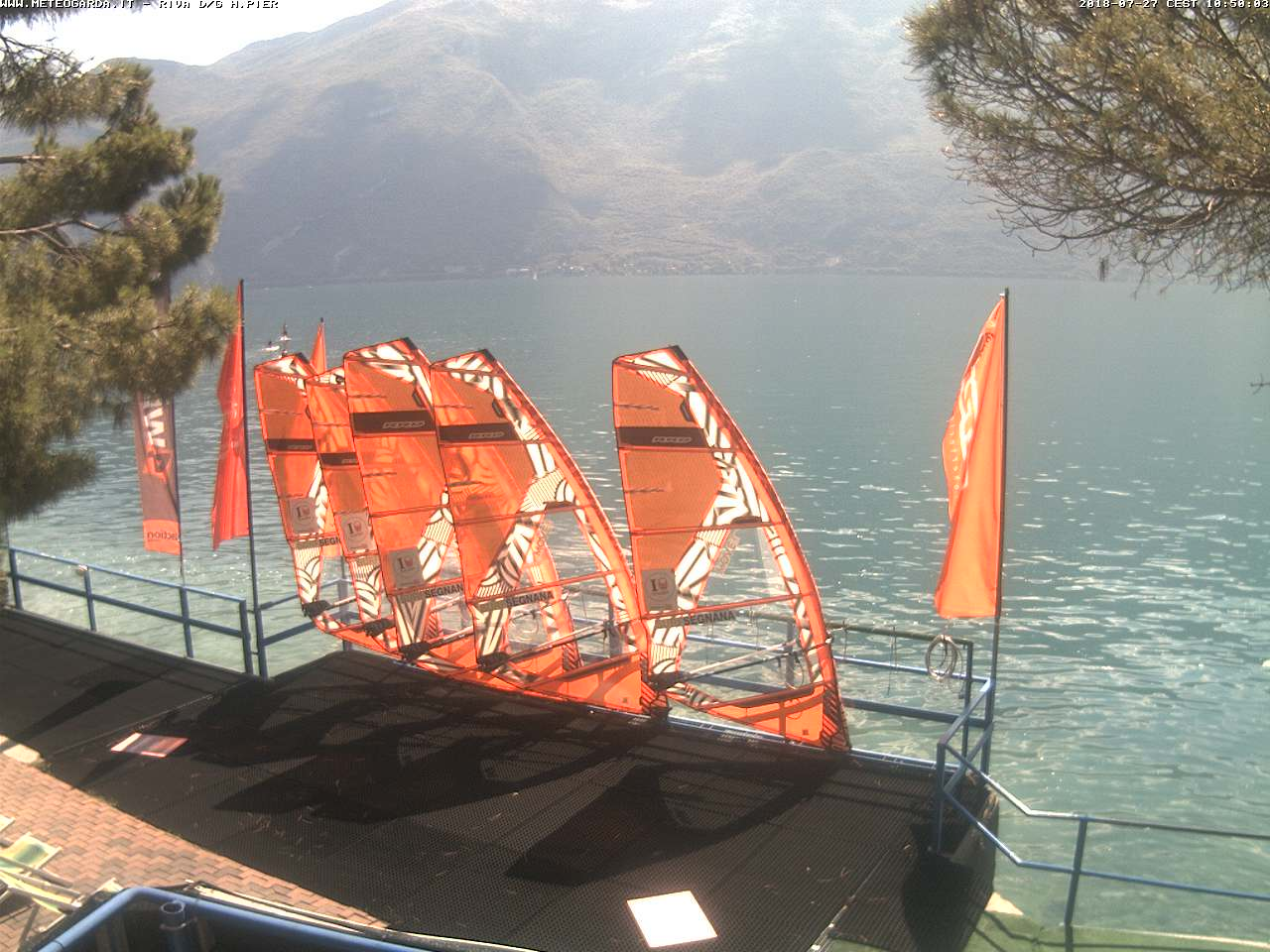 Webcam in Riva del Garda - meteogarda.it